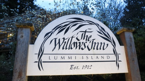 Willows Inn sign