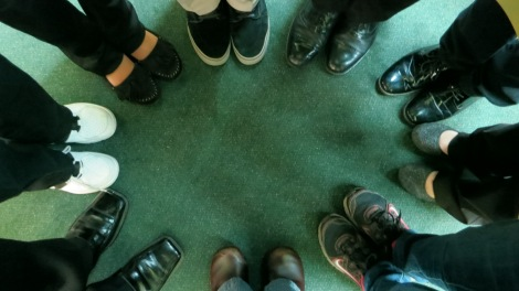 Company E's feet
