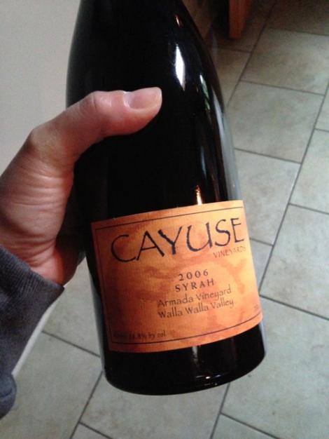 2006 Cayuse Syrah Armada Vineyard